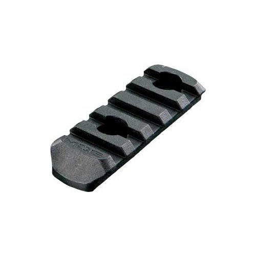 Magpul MAG406-BLK MOE Polymer Rail Section, 5-Slot, Black (Quad Rail For Magpul Handguards compare prices)