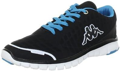Kappa JUMP 241521, Unisex - Erwachsene Sportive Sneakers, Schwarz (black / türkis 1166), EU 37