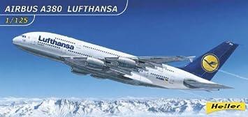 Heller - 80439 - Construction Et Maquettes - Airbus A380 800 Lufthansa - Echelle 1/125ème
