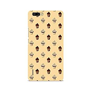 Mobicture Cream Cupcakes Premium Printed Case For Huawei Honor 6 Plus