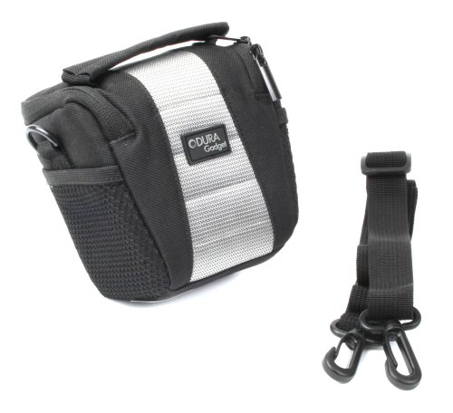 Duragadget Durable Rangefinder Case With Functional Shoulder Strap & Belt Loop For Bushnell Tour V2 Laser Rangefinder With Pinseeker Technology, Bushnell Medalist Laser Rangefinder & Bushnell Tour V2 Slope Edition Rangefinder With Pinseeker