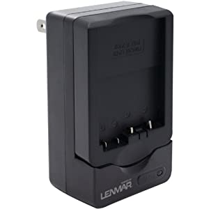 LENMAR CWLPE8 LENMAR CWLPE8 Camera Battery Charger for Canon LP-E8 (Black)