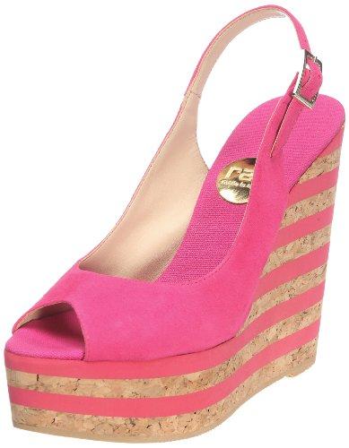 RAS 695 BA6G, Sandali donna, Rosa (Pink (suede fucshia)), 38