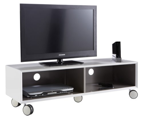 tv bank rollen tv bank mit rollen wei ikea best j gra. Black Bedroom Furniture Sets. Home Design Ideas