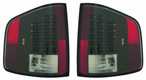 Chevy/Gmc/Isuzu Replacement Tail Light Unit (Led Black) - 1-Pair