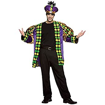 Amazon.com: Mardi Gras King Adult Costume: Adult Sized ... - photo #1