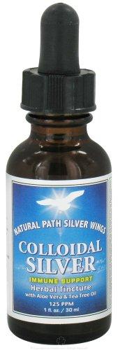 Colloidal Silver Herbal Tincture Dropper - 1 oz - Liquid