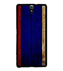 PrintVisa SONC5-Painted Wooden Pattern Metal Back Cover for Sony Xperia C5 Ultra Dual, Sony Xperia C5 E5553 E5506, Sony Xperia C5 Ultra