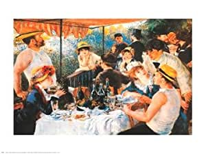 Pierre Auguste Renoir Luncheon Boating Party 30x24