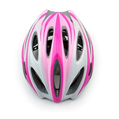 Women's Bicycle Helmet Pink Color, Size 45-64cm by Skyrocket