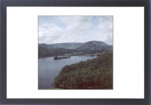 Framed Artwork Of Lake District/grasmere