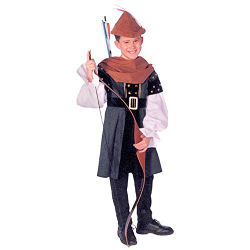 Child's Robin Hood Costume (Size:Small 5-6)