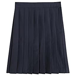 French Toast Pleated Skirt Girls Navy 7