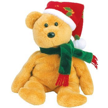 TY Beanie Baby - 2003 HOLIDAY TEDDY - 1