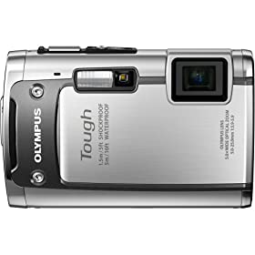 Olympus 228090 TG-610 Digital Camera (Silver)