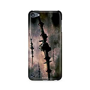 Motivatebox - Apple Ipod Touch 6th Generation Back Cover - Old Warplanes Polycarbonate 3D Hard case protective back cover. Premium Quality designer Printed 3D Matte finish hard case back cover.