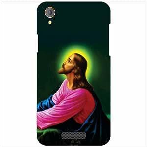 Lava Iris X1 Atom Back Cover - Silicon Jesus Designer Cases