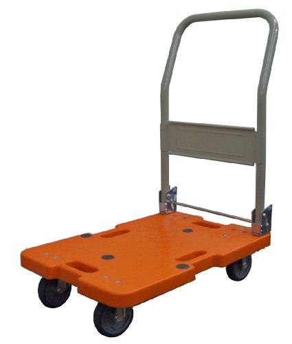 ナンシン 樹脂軽量運搬車 LSKシリーズ LSK-211 R・オレンジ