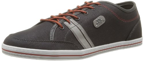 Kappa Men's Brador Man Trainers Gray Gris (Dk Grey/White/Cognac) 11 (45 EU)