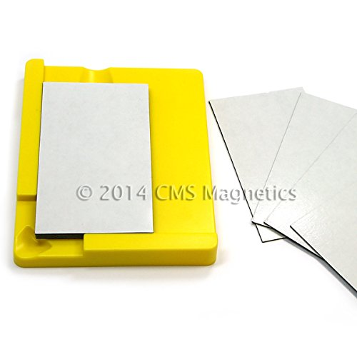 Cms Magnetics® 10 Business Card Magnets W/ Mounting Tool front-408216