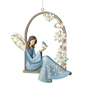 Gifts decor angels arbor flower butterfly for Angel wall decoration
