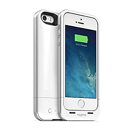 SGC-Mophie-Juice-Space-Air-1700-Mah-Battery-Bank-Case-Cover-For-Apple-iPhone-5/5S/SE-White