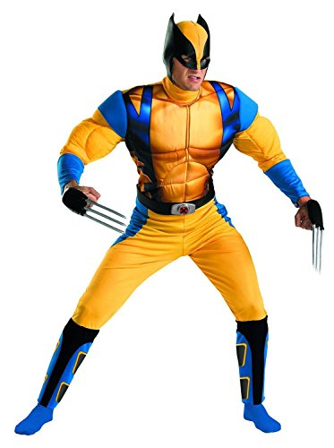 Fas Cosplay The Wolverine Classic Muscle Mens Adult Costume