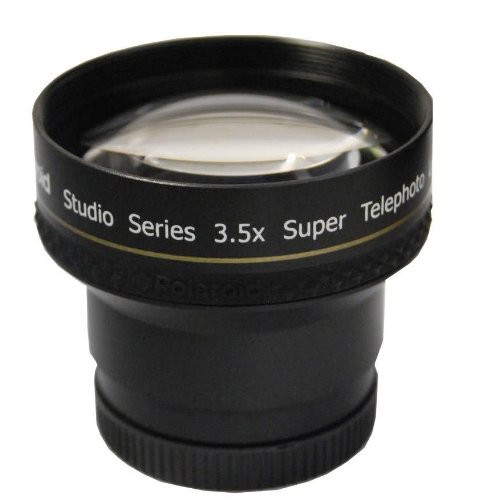 Polaroid Studio Series 3.5X Hd Super Telephoto Lens 37Mm