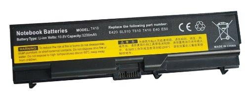® eTrade Power Batterie pour IBM Lenovo ThinkPad SL510, L420, W510, L512, T410/T410i E525/T510, L412 du L510, L410, T510i compatible 57Y4545, 57Y4186,