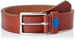 United Colors of Benetton Men's Leather Belt (8903975218154_16A6BLTL6002I901S)