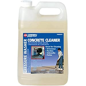 Campbell hausfeld t23004 pressure washer for Pressure washer concrete cleaner solution