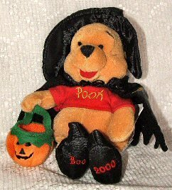 Disney Mini Bean Bag Witch Pooh - 1