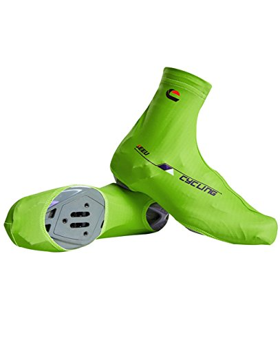 Mountain Bike Shoe Covers - Green Cycling MTB Shoe Cover Nonslip Windproof Shoe Cover (XL US:10-11) (Bike Shoes Cover compare prices)