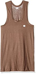 Rupa  Frontline Men's Cotton Vest (Frontline_90_Chocolate)