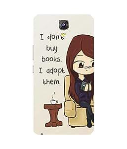 Book Lover Gionee Marathon M5 Case
