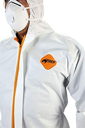 Tiger Tough Disposable All Purpose Coverall (1 Large Coverall)