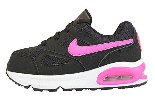 Nike  Air Max Ivo (TD),  Mädchen Sneakers , Mehrfarbig - Negro / Rosa / Negro (Black / Pink Pow-Black) - Größe: 25