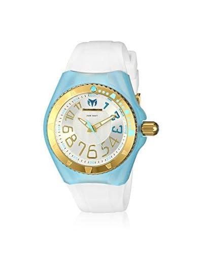 TechnoMarine Women's TM-115227 Cruise Original White/Silver Solid Stainless Steel Watch