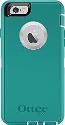OtterBox DEFENDER iPhone 6/6s Case - Retail Packaging - SEACREST (WHISPER WHITE/LIGHT TEAL)