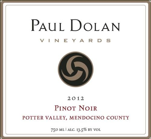 2012 Paul Dolan Vineyards Pinot Noir Mendocino County Potter Valley 750 Ml
