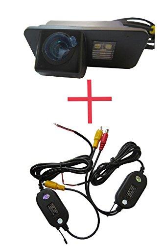 fuway sans fil CCD couleur caméra de recul voiture Back Up Parking vue arrière arrière pour Ford Mondeo Fiesta Focus S-Max Kuga