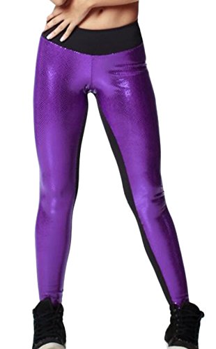 YLnini-Womens-Tights-Active-Yoga-Running-Pants-Workout-Leggings