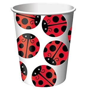 Click to buy Ladybug Party Supplies 9oz. Hot/Cold Cupsfrom Amazon!