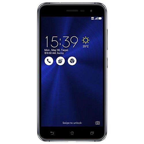 Asus ZenFone 3 Smartphone, Memoria Interna da 64 GB, Dual-SIM, Nero [Italia]