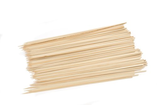 Charcoal Companion CC5004 Bamboo 10-Inch Skewers, Set of 100