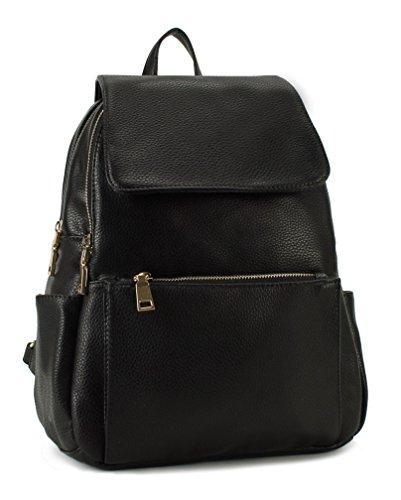 Scarleton Fashionable Chic Backpack Black
