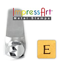 ImpressArt- 6mm, Epsilon Greek Letter Stamp