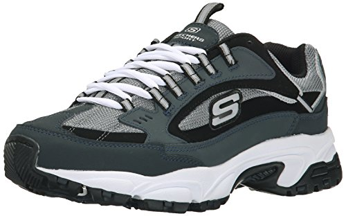 Skechers Sport Men's Stamina Cutback Sneaker, Navy Cutback, 12 XW US