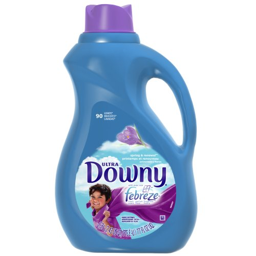 Cheap Downy Ultra Fabric Softener With Febreze Spring And