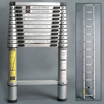 Xtend Amp Climb 770 Aluminum Telescoping Ladder Type Ii With